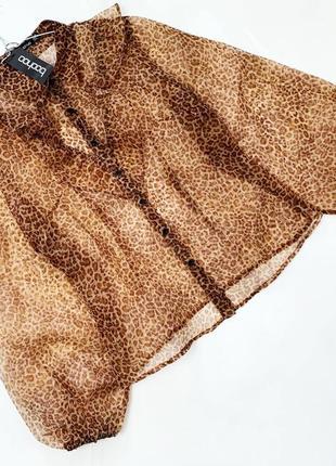 Шикарная блузка с органзы boohoo