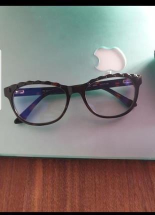 Очки для компьютера, имиджевые люксоптика