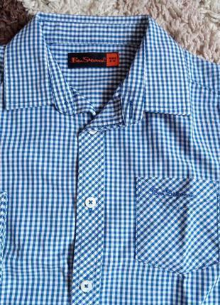 Рубашка для мальчика 5-6 лет (110-116см) ben sherman