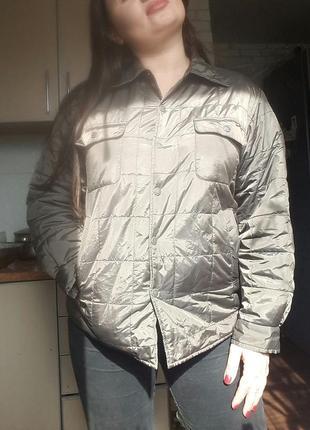 Курточка стеганная весенняя размер 12-14