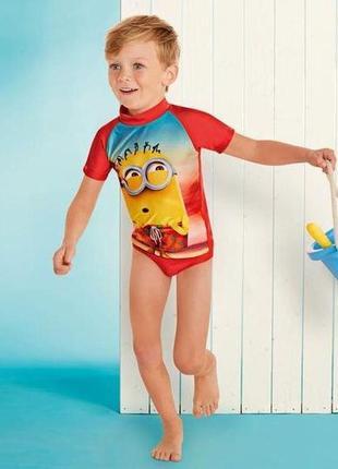 Купальний костюм disney 110-116 мінйони