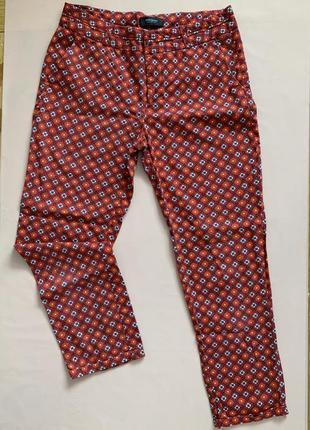 Розпродаж ! брюки у цікавий принт manguun