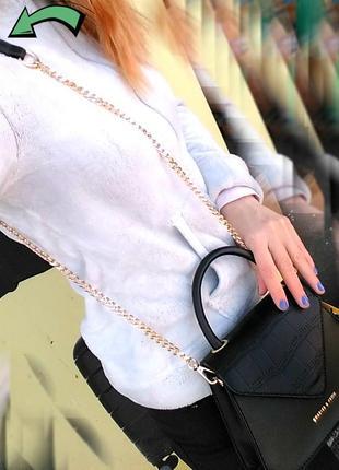 Черная сумка-клатч. мини мода3 фото
