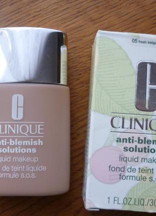 Продам тональный крем от clinique anti-blemish solutions liquid makeup
