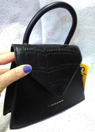 Черная сумка-клатч. мини мода4 фото