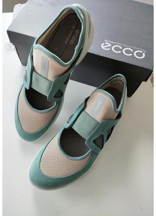 39 40 кроссовки ecco женские жіночі  кросівки туфлі спортивні