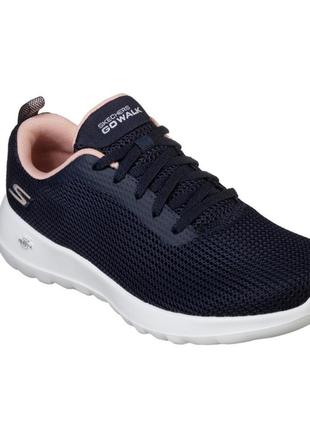 Сині жіночі кросівки скетчерс / текстильные женские кроссовки skechers