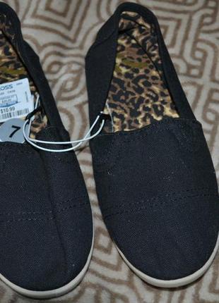 Новые женские слипоны мокасины report сша 24 см стелька 37 размер