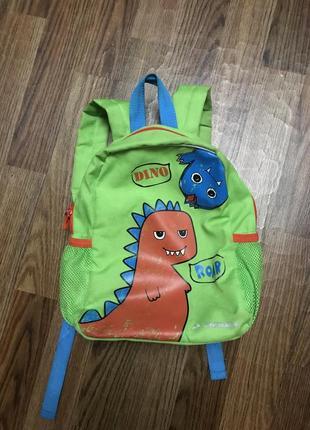 Детский рюкзак динозавр demix