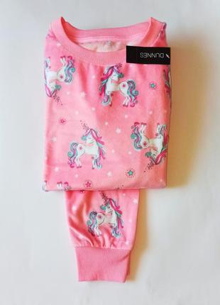 Мягусенькая велюровая пижамка от dunnes, англия. размеры 5-6,7-8,9-10,10-11,11-12 лет