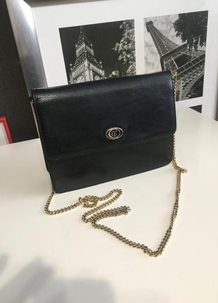 Кожаная сумочка на цепочке gino ferruzzi