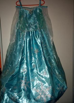 Карнавальное платье эльзы