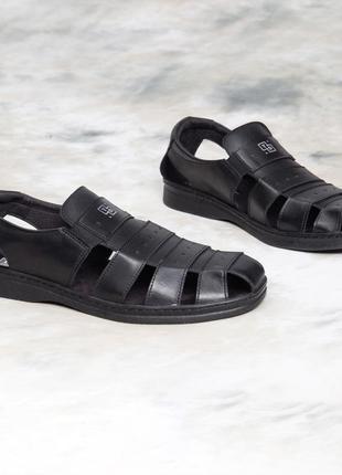 Летние мужские кожаные туфли мокасины