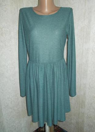 Платье с рукавом topshop