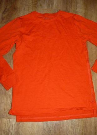 Next оранжевый реглан некст на 10 лет рост 140 см