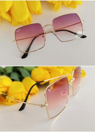 Солнцезащитные очки в розовом цвете