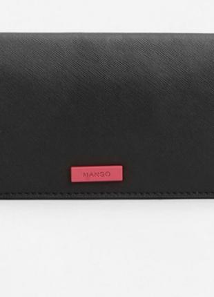 Новый черный кошелёк mango1