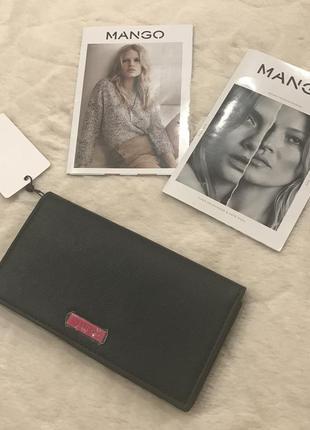 Новый черный кошелёк mango3
