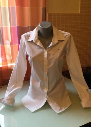 Классическая рубашка tommy hilfiger