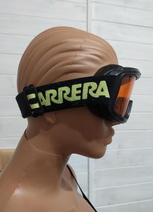 Красивая горнолыжная маска ,очки carrera