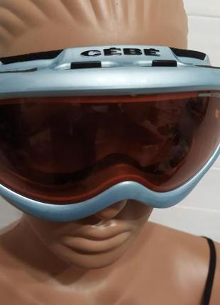Красивые горнолыжные очки ,маска cebe
