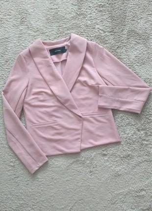Піджак жакет рожевий нюд vero moda p.m,l