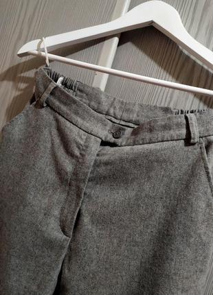 Женские теплые классические брюки/брюки натуральная шерсть