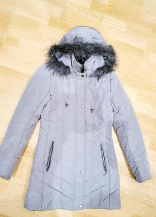Демисезонная куртка удлиненная пальто