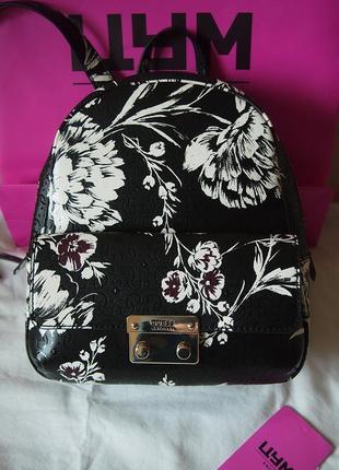 Guess рюкзак цветы средний размер