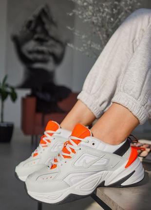 M2k tekno white/orange
