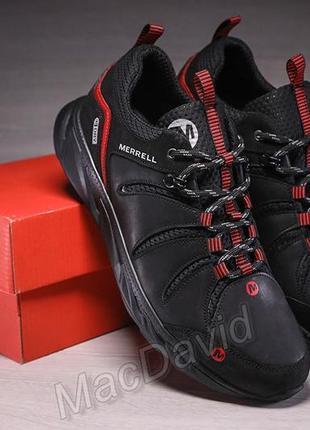 Кроссовки мужские кожаные merrell dry