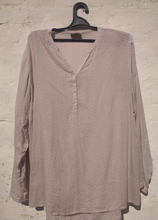 Легкая невесомая блузка из вискозы gina benotti