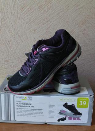Walkx sport кроссовки германия ,водонепр., светоотр, дышащие р.39