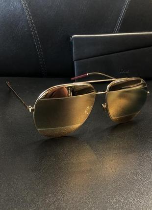 Dior sunglasses солнцезащитные очки2 фото