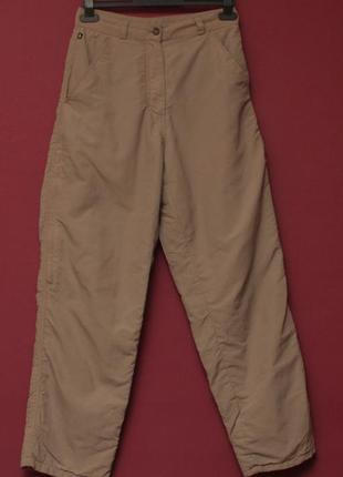 The north face рр s брюки из полиамида утепленные флисом