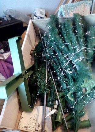 """Новогодняя елка,1,5м, за-д """"синтель"""". москва. ссср. винтаж."""