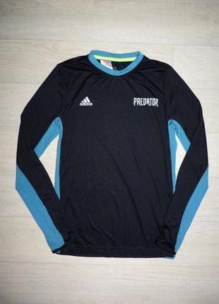 Реглан для футбола, кофта для спорта adidas predator 13-14 ле. оригинал.