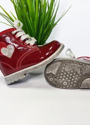 Ортопедические ботинки для девочек 22-25рры