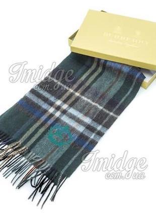 Мужской шарф шерсть от burberry!