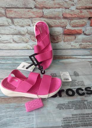 Сандали crocs women's literide sandal j3 оригинал босоножки