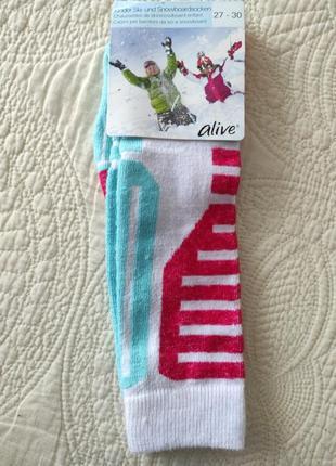 Лижні шкарпетки alive (німеччина) розмір  27-30..