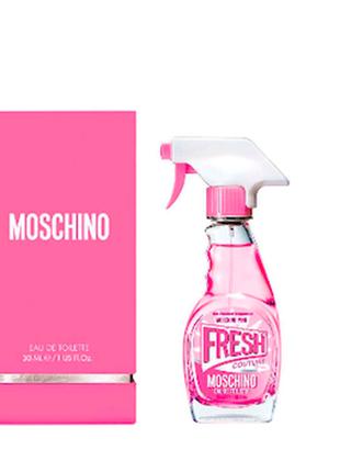 Духи moschino fresh pink
