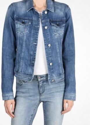 Куртка джинсова жіноча  armani exchange   оригінал