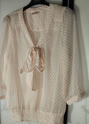 Милая блузка в горошек only