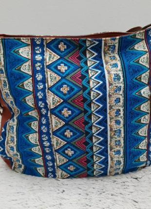 Сумка/тряпочна вмістка сумка/сумка в стиле бохо