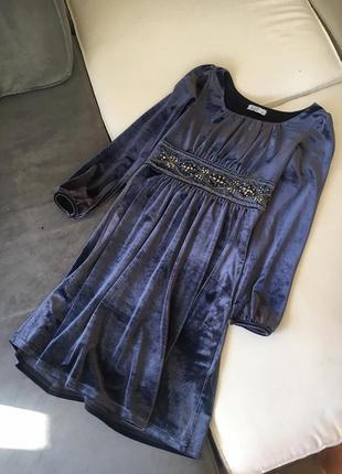 Бархатное платье. (made in italy)