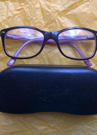 Скидка сегодня!очки оправа ray ban 5228 2126 53 оригинал с родным чехлом