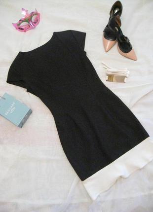 Черное платье/женское короткое платье/платье по фигуре/платье воланы/миди