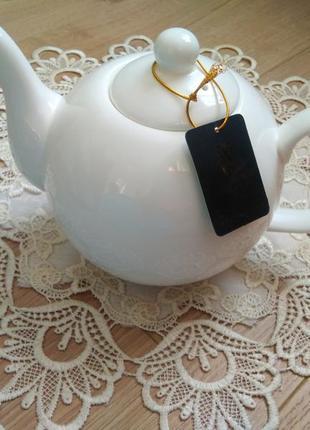 Заварочний чайник wilmax england 1100ml/ порцеляна
