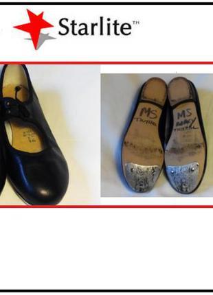 Детские туфельки для степа чечетка англия